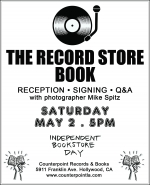 THE RECORD STORE BOOK Reception & Signing