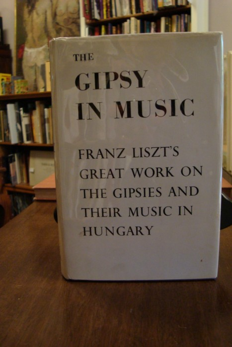 GIPSY (THE) IN MUSIC;. Franz Liszt.