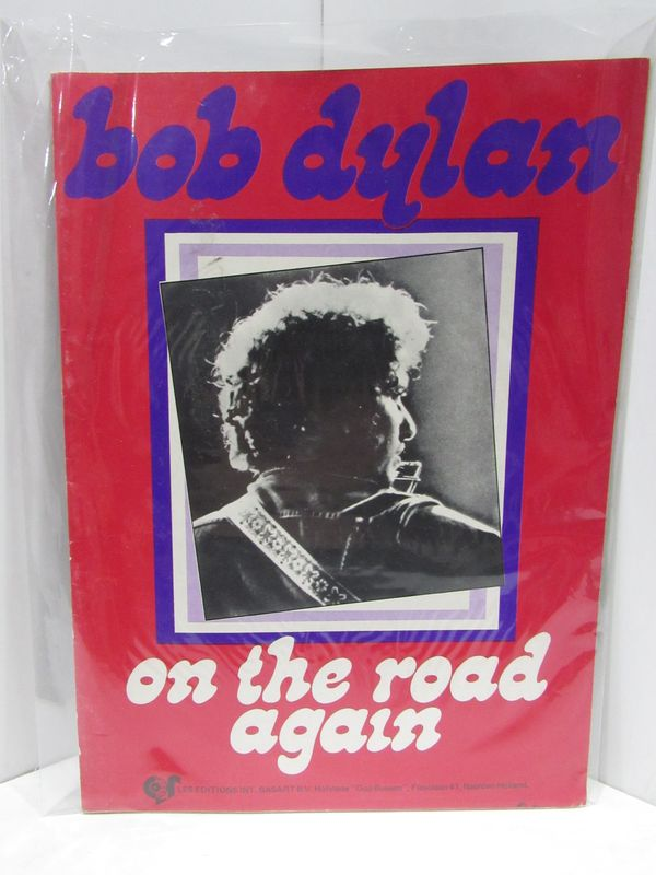 ON THE ROAD AGAIN;. Bob Dylan.