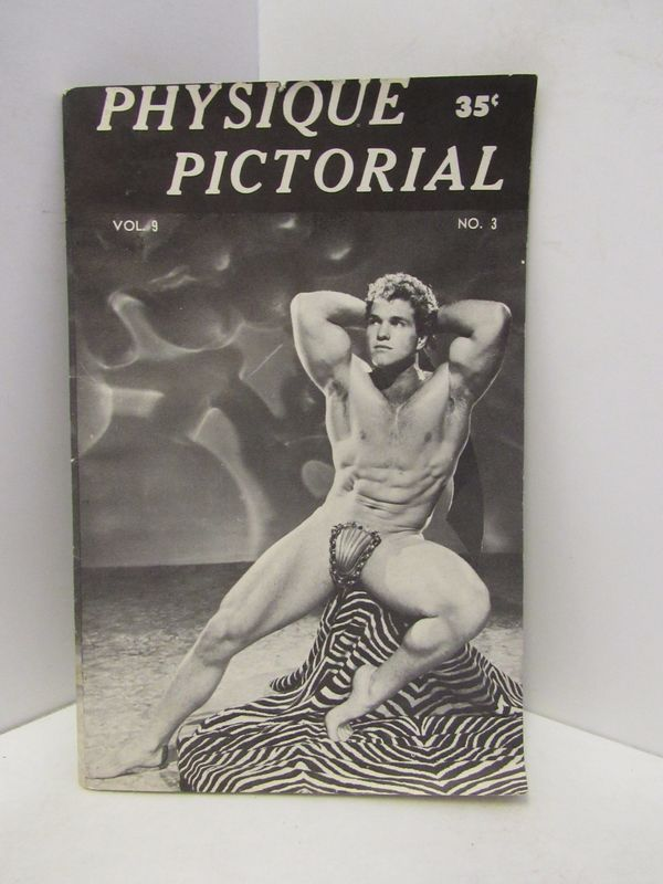 PHYSIQUE PICTORIAL VOLUME 9 NUMBER 3;.