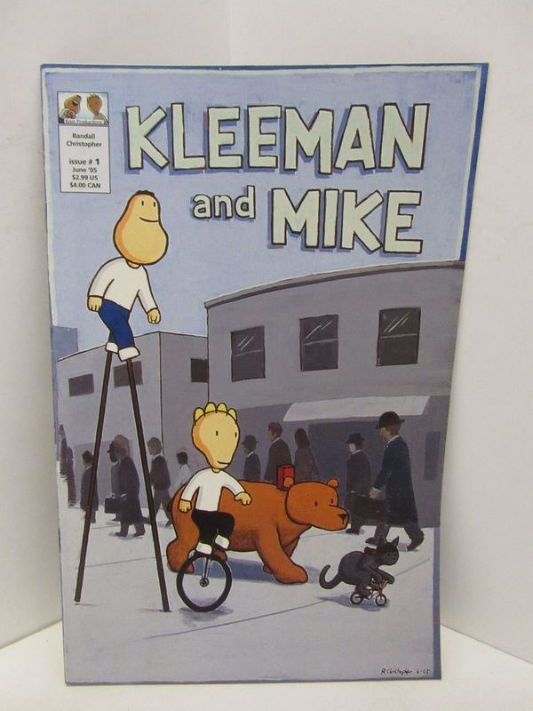 KLEEMAN AND MIKE ISSUE NO.1;. Randall Christopher.