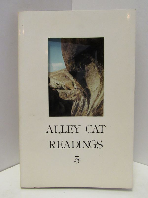 THE ALLEY CAT READINGS 5;. Michael Andrews, Marcus J. Grapes.