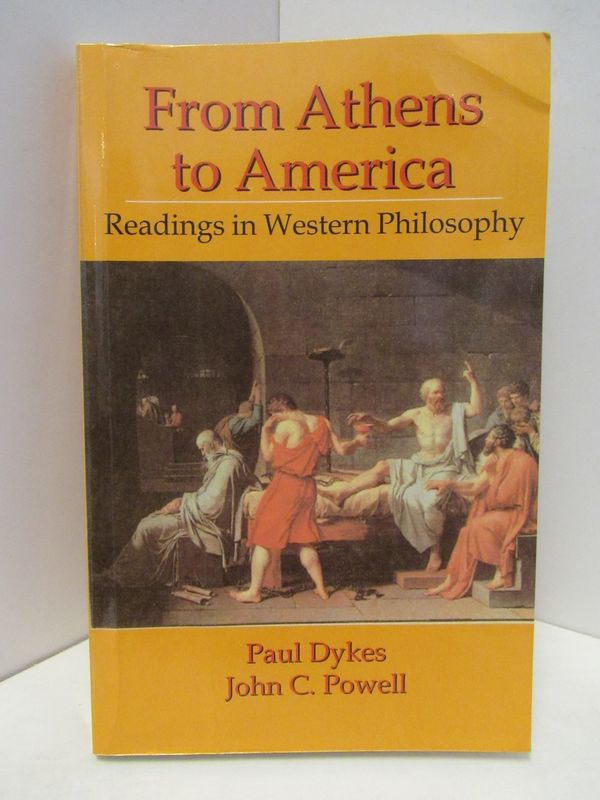 FROM ATHENS TO AMERICA;. Paul Dykes, John C. Powell.