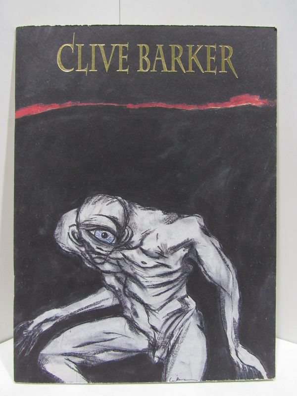 CLIVE BARKER: PAINTINGS AND DRAWINGS 1973-1993;. Clive Barker.
