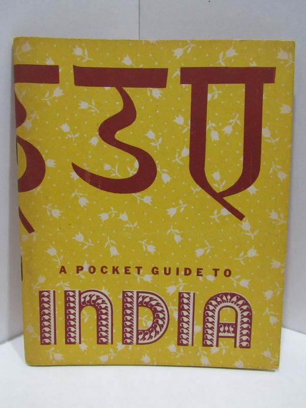 POCKET GUIDE TO INDIA;. War, Navy Departments.