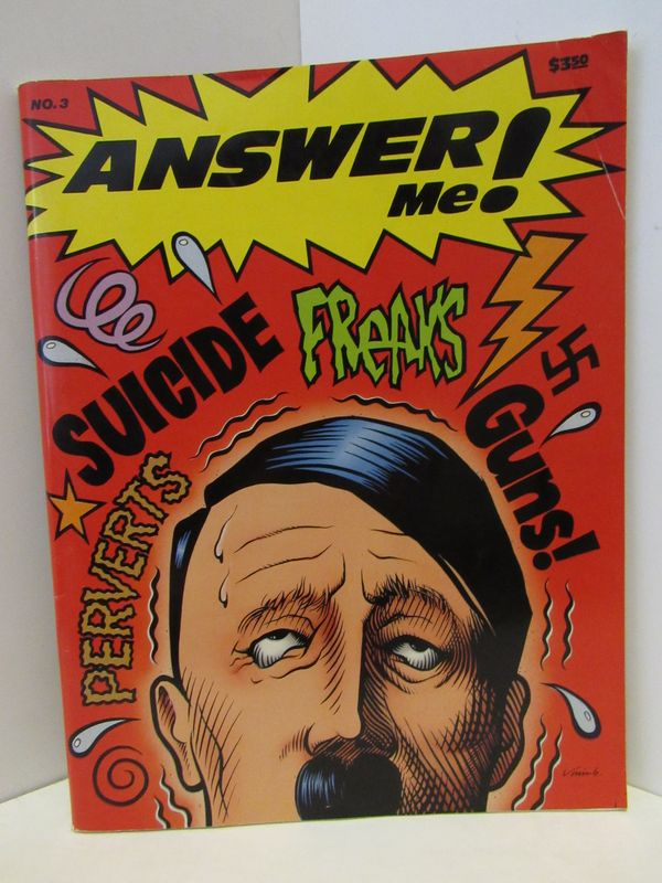 ANSWER ME! ISSUE 3;. Jim Goad.