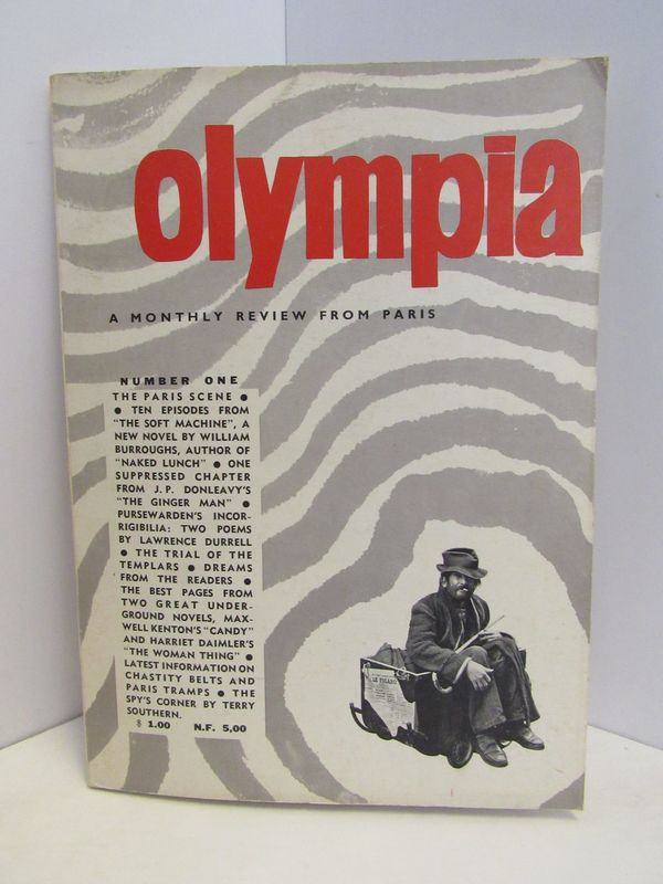 OLYMPIA: A MONTHLY REVIEW FROM PARIS NUMBER ONE;.