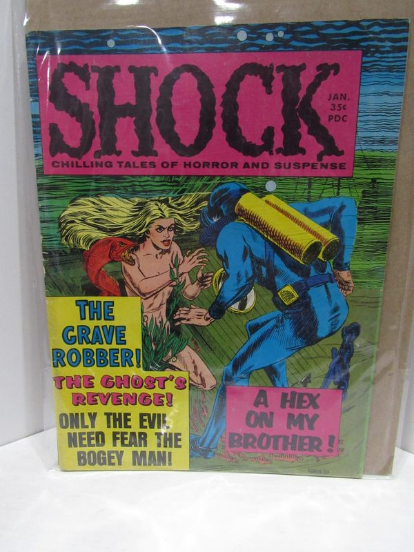 SHOCK VOL 1 NO 5;. Jerry D. Sutton.