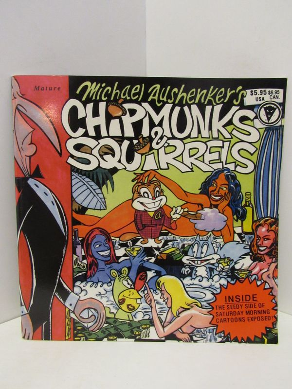 CHIPMUNKS & SQUIRRELS #1;. Michael Aushenker.