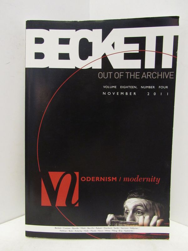 MODERNISM / MODERNITY VOL. 18, NO. 4 NOVEMBER 2011;