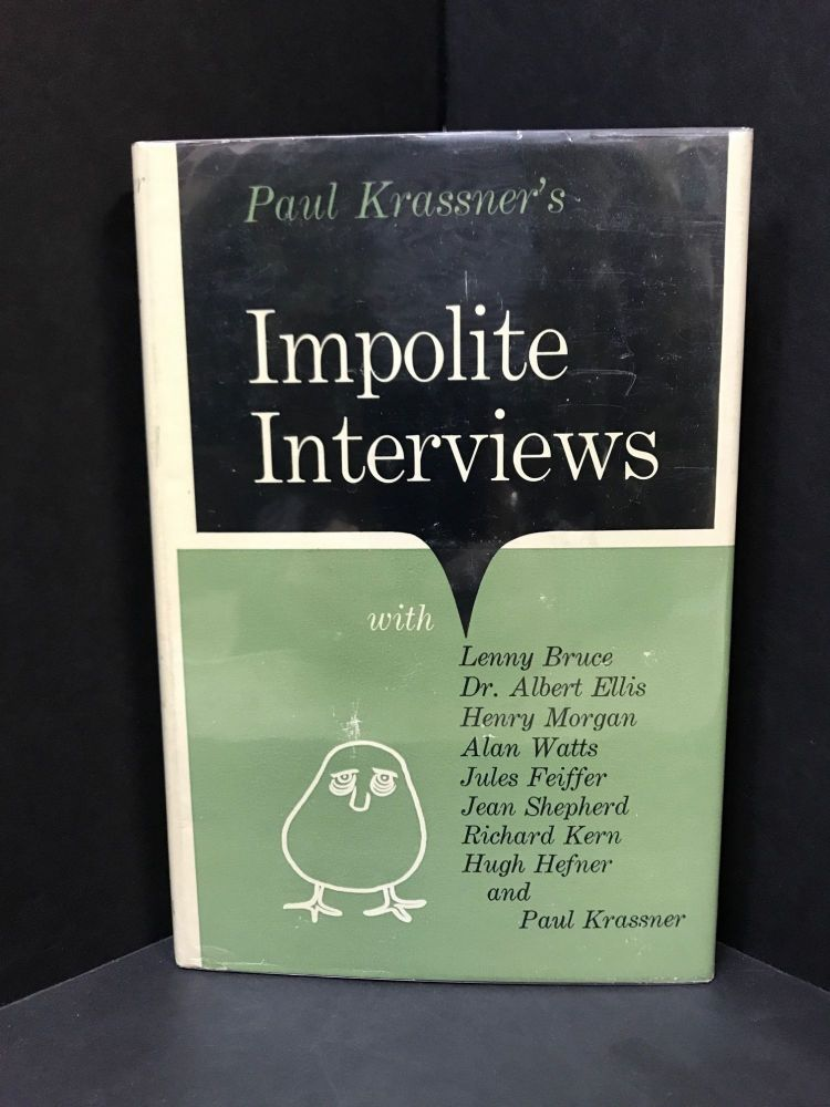 IMPOLITE INTERVIEWS;. Paul Krassner.