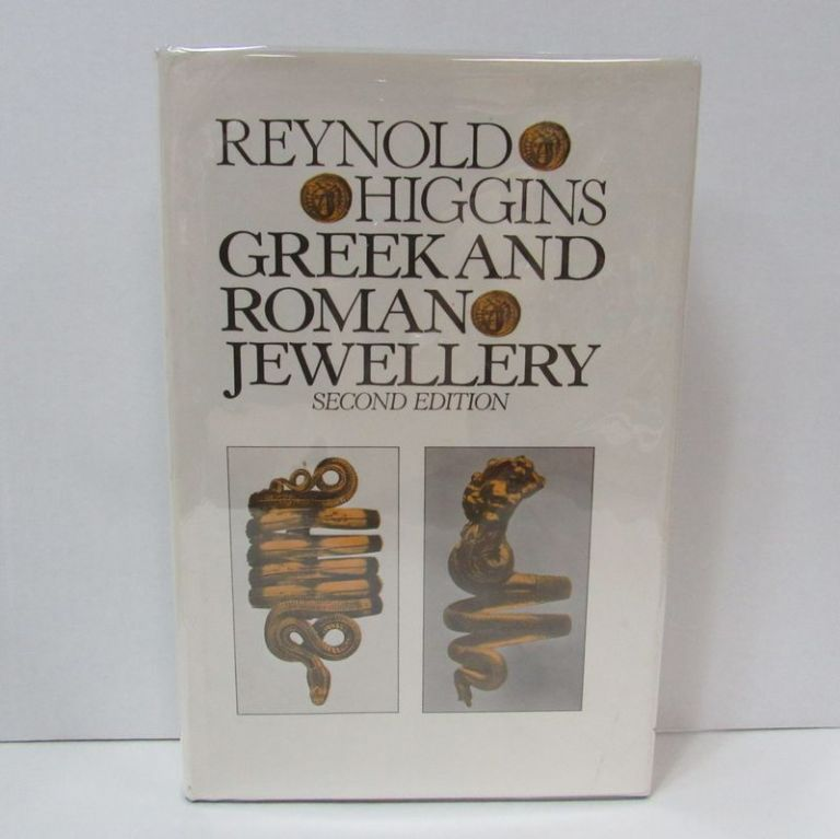 GREEK AND ROMAN JEWELLERY;. Reynold Higgins.
