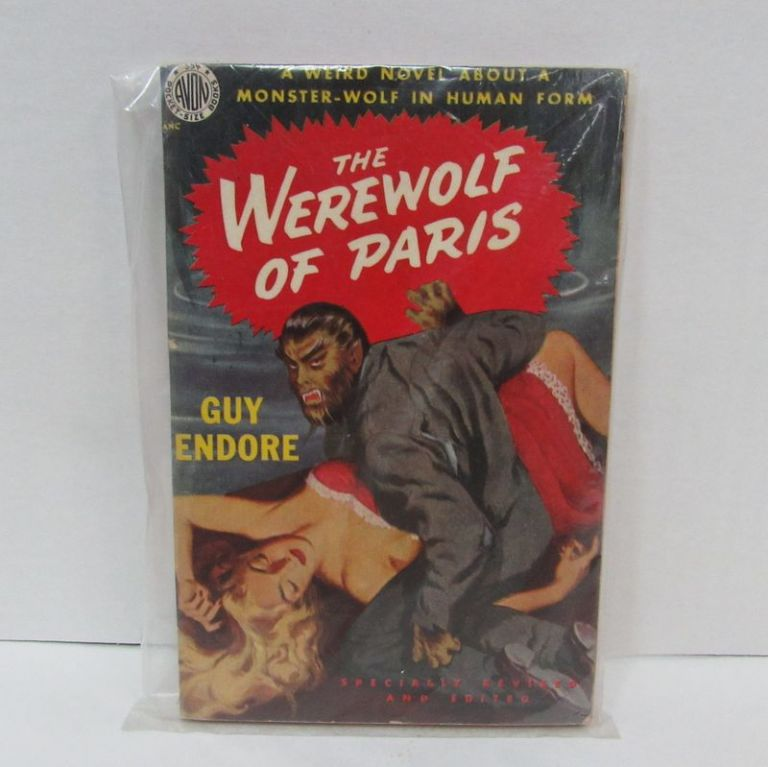 WEREWOLF OF PARIS (THE);. Guy Endore.