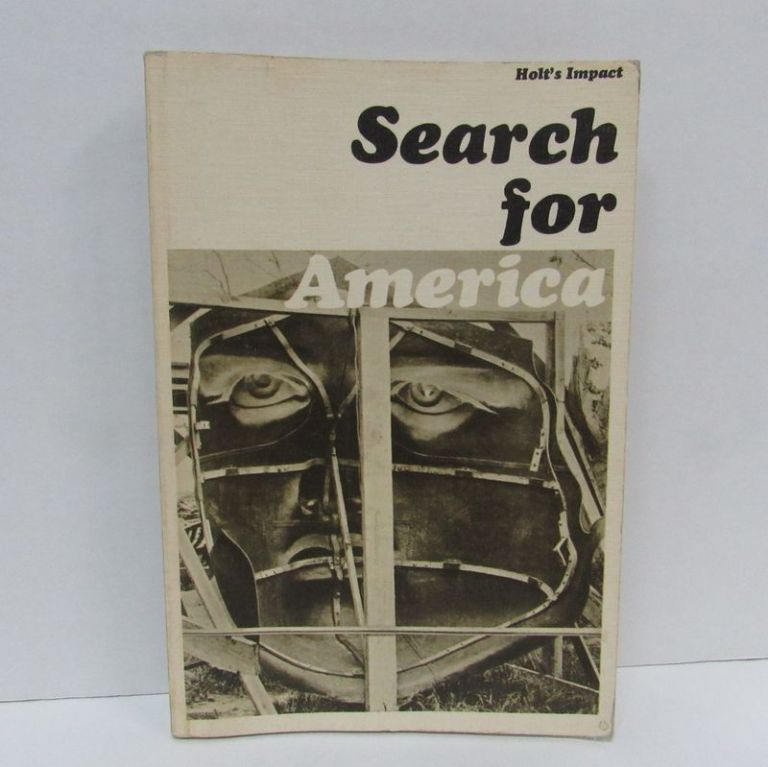 SEARCH FOR AMERICA;. Charlotte K. Brooks.
