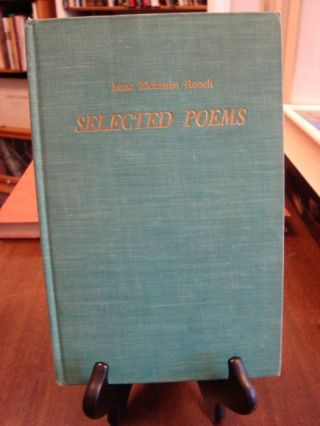 SELECTED POEMS;. Isaac Elchanan Ronch