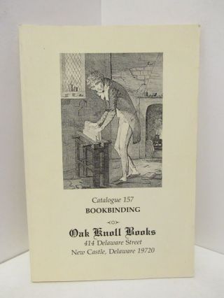 CATALOGUE 157; BOOKBINDING;. Robert D. Fleck