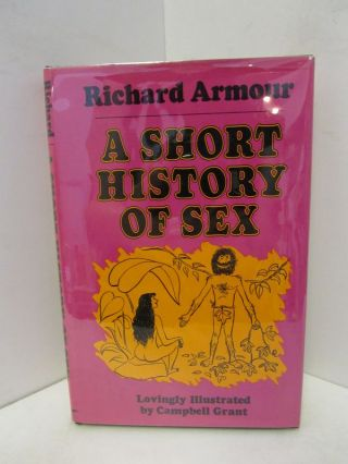 SHORT (A) HISTORY OF SEX;. Richard Armour