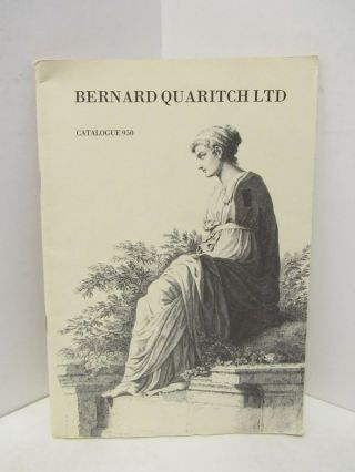 BERNARD QUARITCH LTD CATALOGUE 950;. Bernard Quaritch