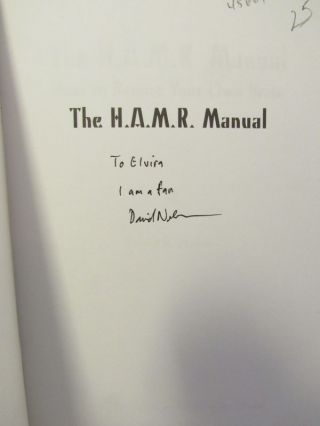 H.A.M.R. (THE) MANUAL;