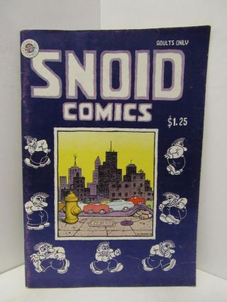 SNOID COMICS;. R. Crumb
