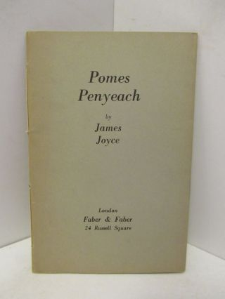 POMES PENYEACH;. James Joyce