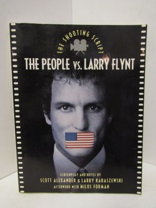 PEOPLE (THE) VS. LARRY FLYNT;. Scott Alexander, Larry Karaszewski