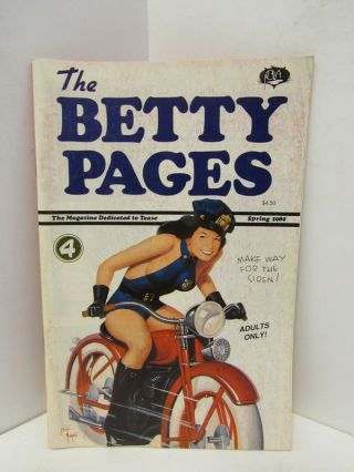 BETTY (THE) PAGES #4;. Greg Theakston