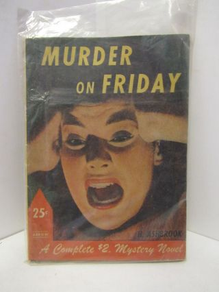 MURDER ON FRIDAY;. H. Ashbrook.