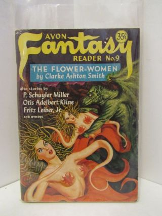 AVON FANTASY READER NO. 9;. Donald A. wollheim.