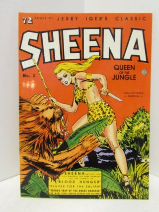 JERRY INGER'S CLASSIC SHEENA 31;. Jerry Inger.