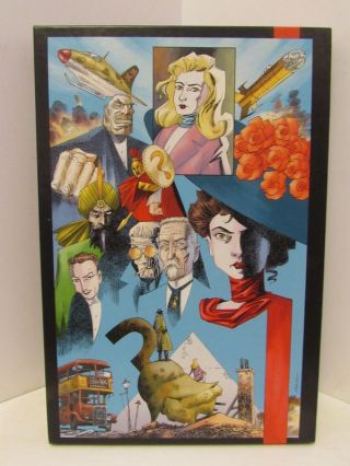 LEAGUE (THE) OF EXTRAORDINARY GENTLEMEN BLACK DOSSIER;. Alan Moore