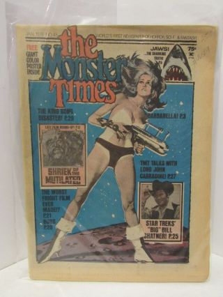 MONSTER (THE) TIMES JAN 1976 NO. 45