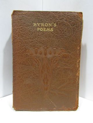 POEMS (THE) AND DRAMAS OF LORD BYRON;. Lord Byron