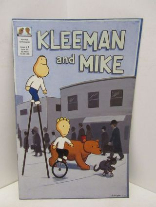 KLEEMAN AND MIKE ISSUE NO.1;. Randall Christopher
