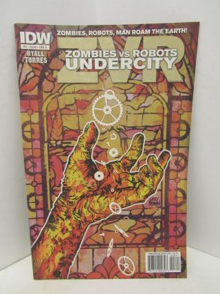 ZOMBIES VS ROBOTS UNDERCITY #3;. Mark Torres, Chris Ryall