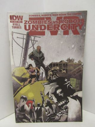 ZOMBIES VS ROBOTS UNDERCITY #4;. Mark Torres, Chris Ryall