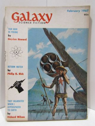 GALAZY SCIENCE FICTION FEBRUARY 1967;. Various.