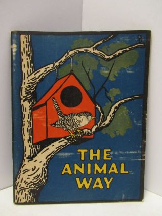 ANIMAL (THE) WAY;. Jean Broadhurst