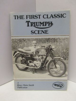 FIRST (THE) CLASSIC TRIUMPH;. Unknown