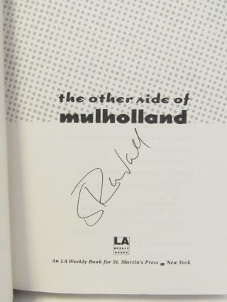 OTHER (THE) SIDE OF MULLHOLLAND;