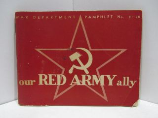 OUR RED ARMY GUIDE;. War, Navy Departments