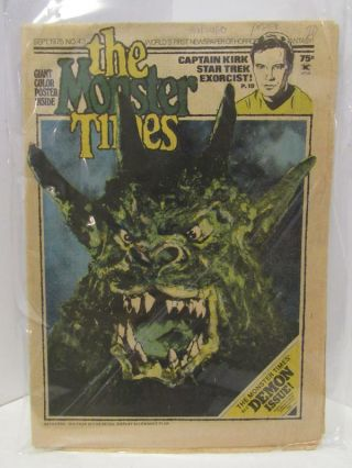 MONSTER (THE) TIMES SEPT 1975, NO.43