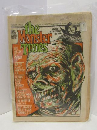 MONSTER (THE) TIMES VOLUME 1. NO. 15
