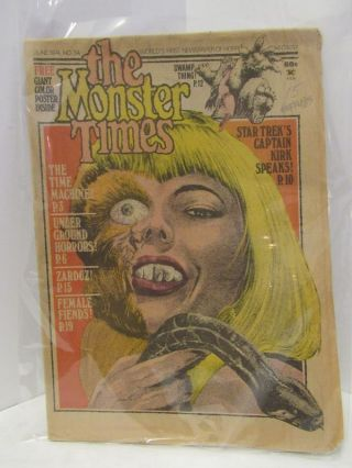 MONSTER (THE) TIMES JUNE 1974 NO. 34