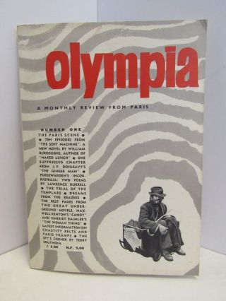 OLYMPIA: A MONTHLY REVIEW FROM PARIS NUMBER ONE