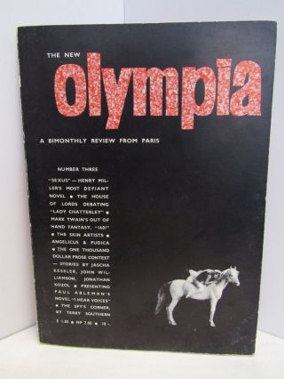 OLYMPIA: A MONTHLY REVIEW FROM PARIS NUMBER THREE