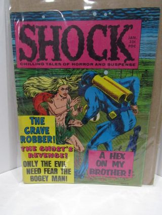 SHOCK VOL 1 NO 5;. Jerry D. Sutton