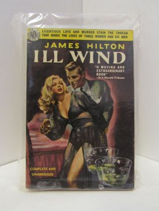 ILL WIND;. James Hilton.
