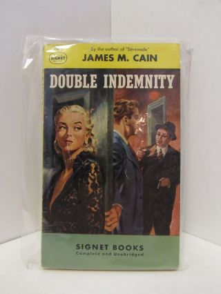 DOUBLE INDEMNITY;. James M. Cain