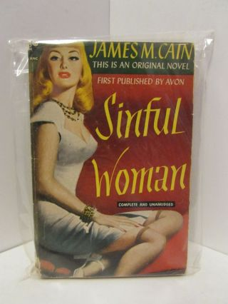 SINFUL WOMAN;. James Cain